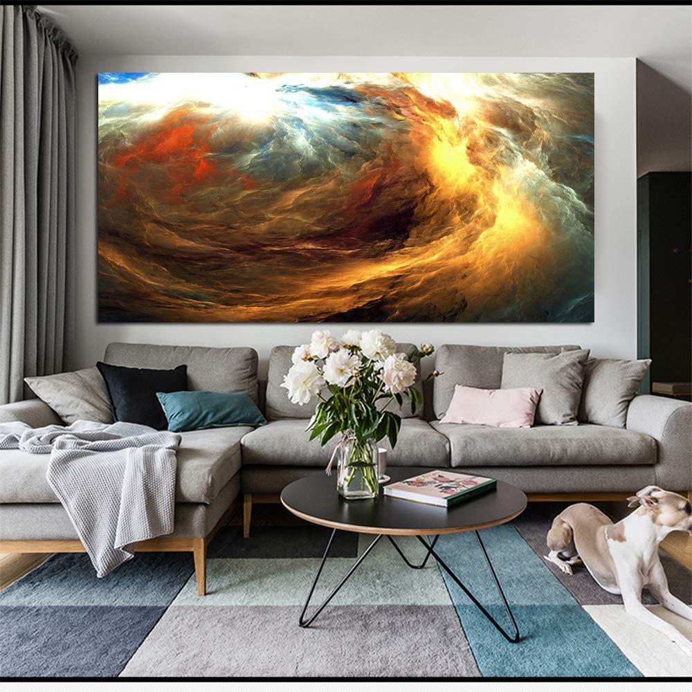 RTCKF Cartel de impresión de Arte de Pared Grande Nube ...