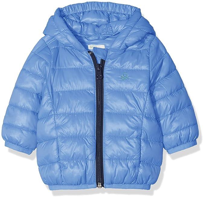 United Colors of Benetton Jacket, Chaqueta Bebé-Niños, Azul (Light Blue 26r