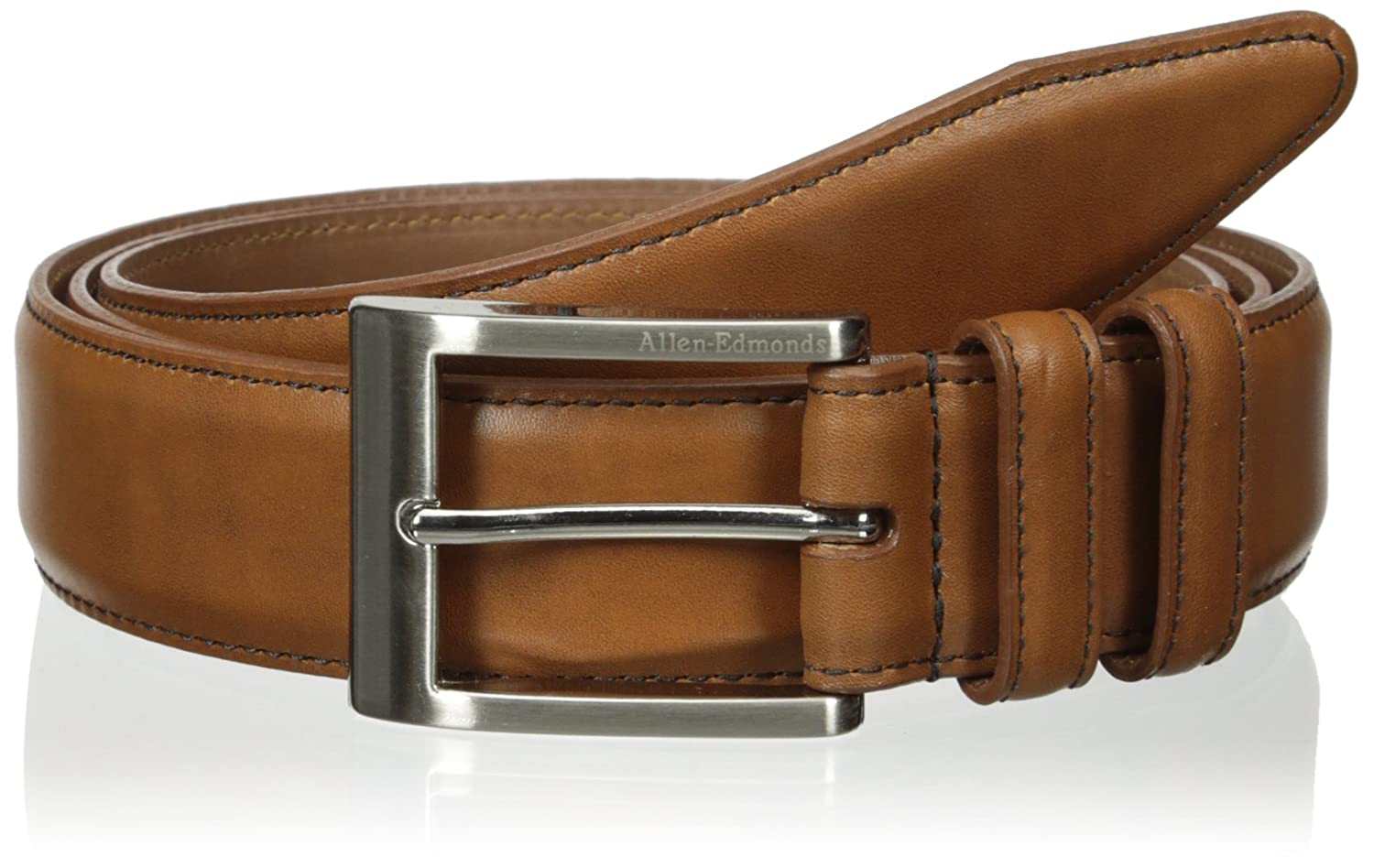 Allen edmonds men s basic 35mm dress belt at amazon men s clothing