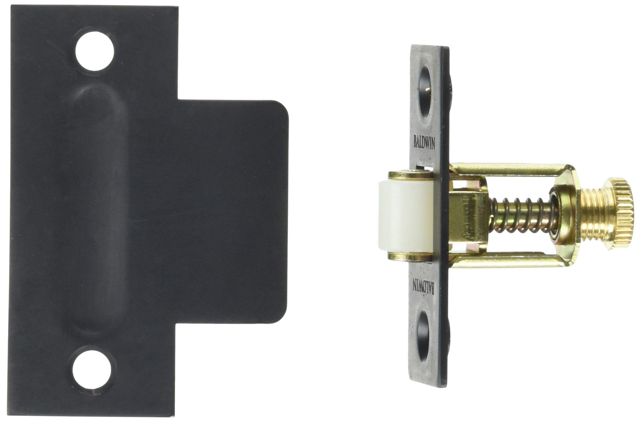 Baldwin 0440102 Adjustable Roller Catch, Oil Rubbed Bronze