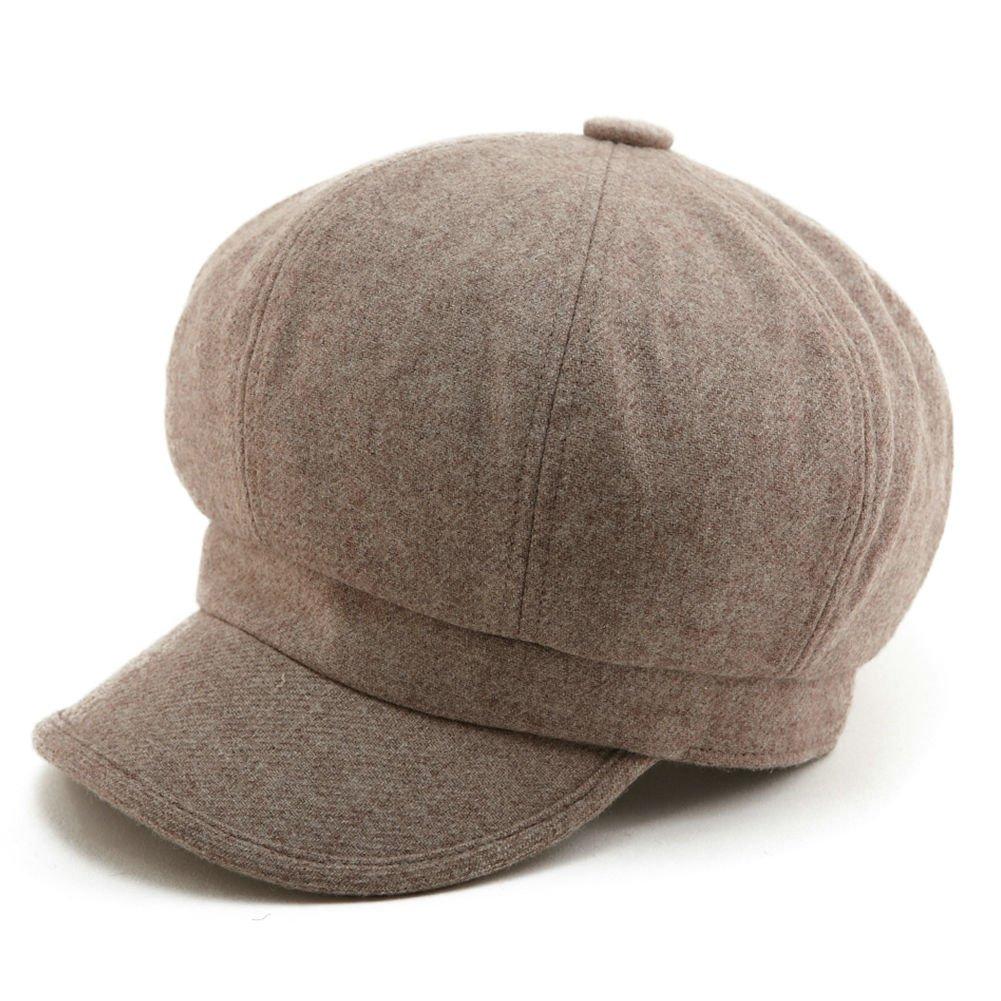 309f24cf777 Siggi Womens Wool Blend Visor Beret Newsboy Cap Baker Boy Hats for Ladies  product image