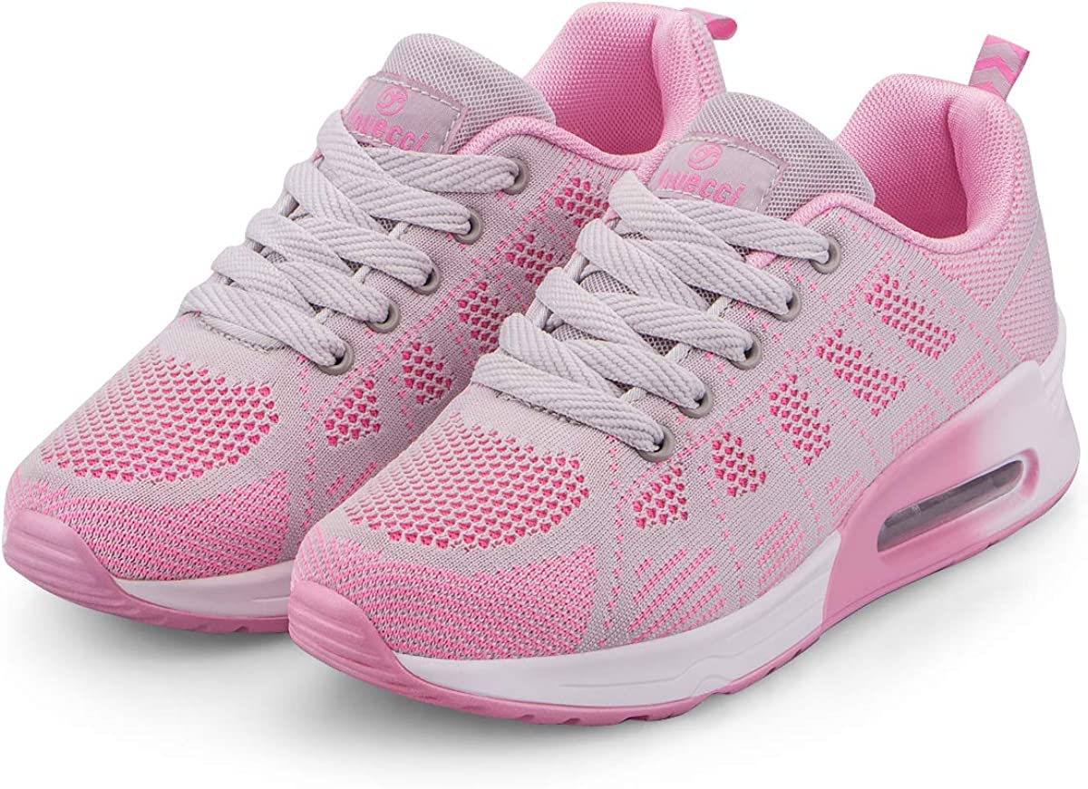 Femme Running Baskets Respirant Marche Running Chaussures Fitness Course Basses Athl/étique Gym Mode Sneakers