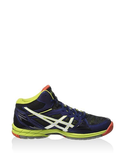 29161ba6d3 ASICS Scarpa Sportiva Gel-Volley Elite 3 Mt Blu Navy/Bianco/Lime EU 39:  Amazon.it: Scarpe e borse