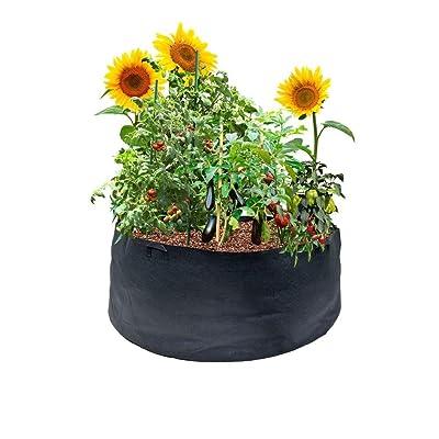 Fabric Pot with Handles Viagrow, 300 gallon : Garden & Outdoor