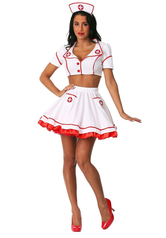 Small Nurse Hottie Women's Fancy Dress Costume Small