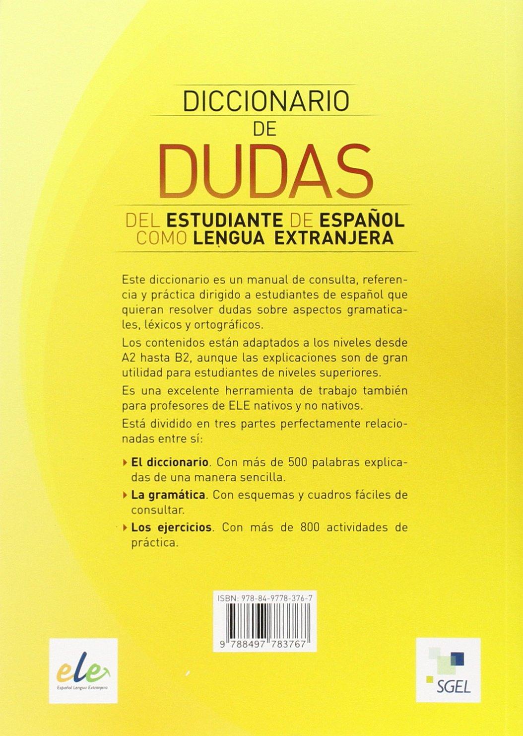Diccionario americano de dudas frecuentes de la lengua espanola (Spanish Edition)