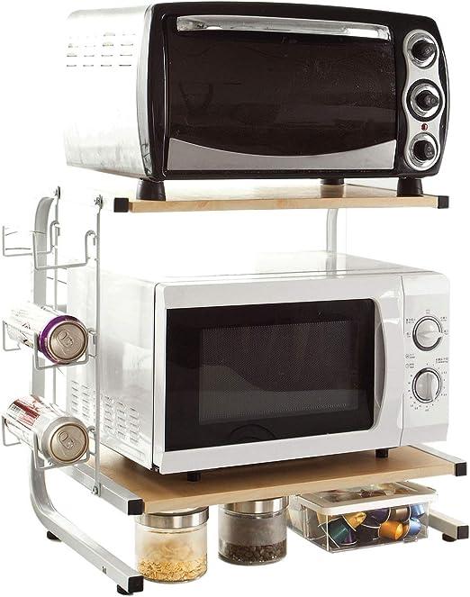 SoBuy®FRG092-N,Soporte para microondas, estante, estantería de ...