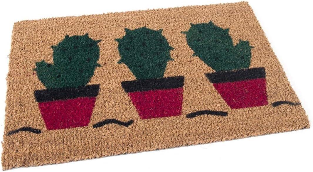 Felpudo Coco Dibujo 40 X 60 Cactus S.L Dabuty Online