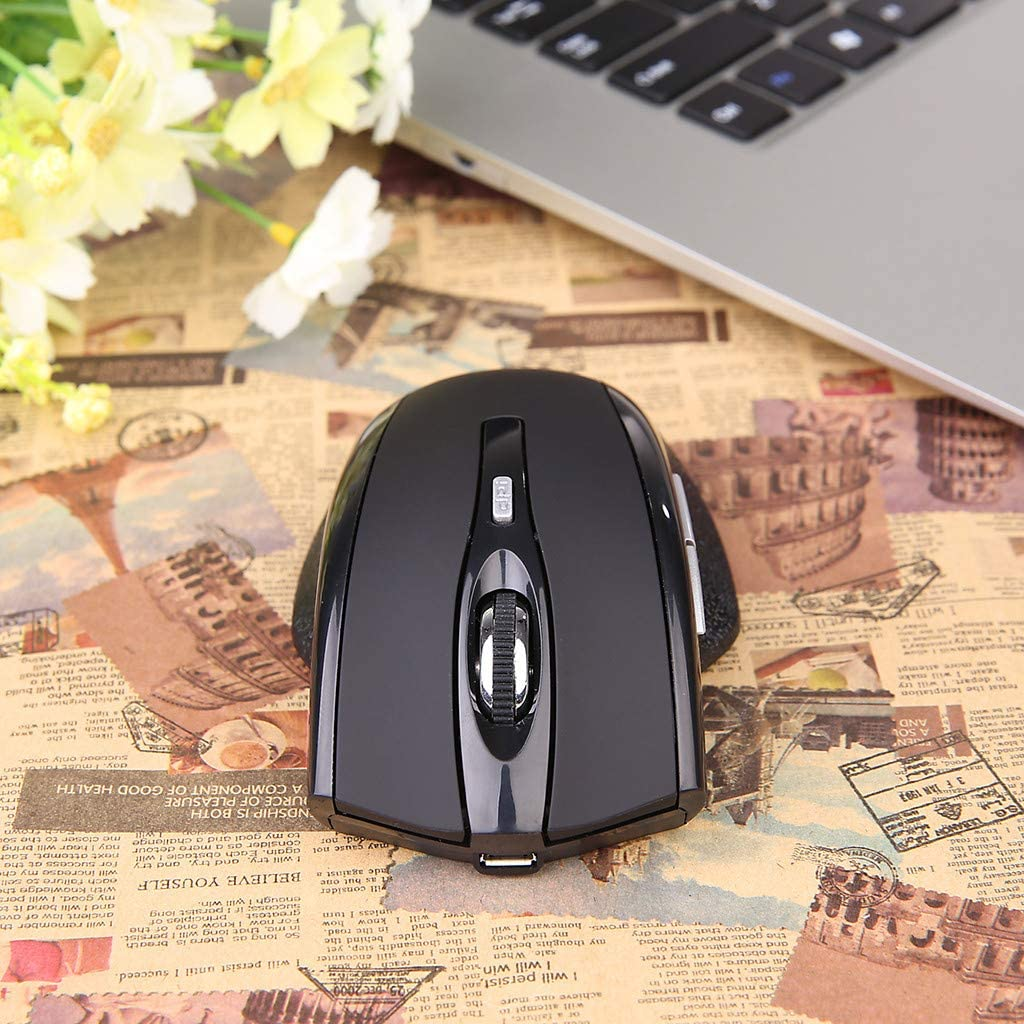 2019 Mouse with USB Charging Line Ikevan W321 Rechargeable Bluetooth Wireless Mouse Optical 1600DPI Dual Mode Mice