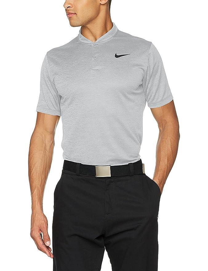 3ce1aeaa3 Amazon.com  NIKE Dry Fit Heather Blade Golf Polo 2017  Clothing