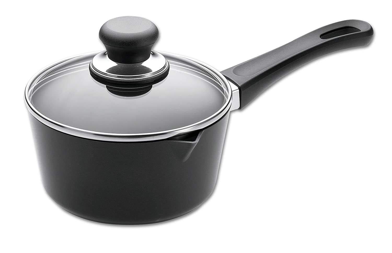Amazon com: Scanpan Classic 2-Quart Covered Saucepan