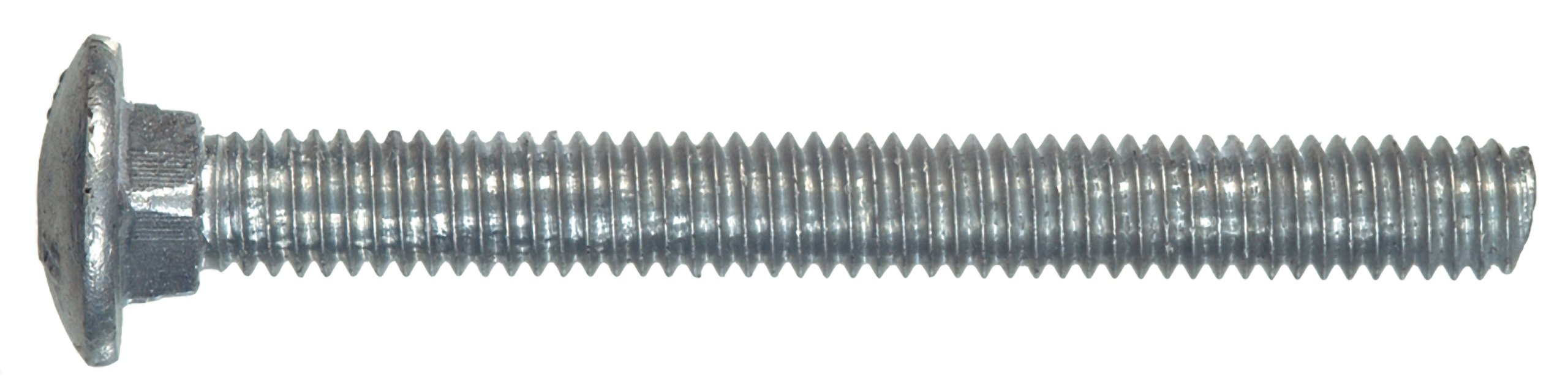 The Hillman Group 812569 Hot Dipped Galvanized Carriage Bolt, 3/8-Inch x 1-Inch, 100-Pack by The Hillman Group