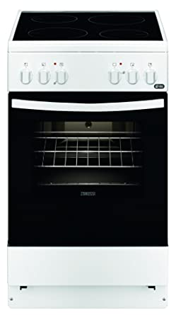 Zanussi ZCV540G1WA - Cocina (Independiente, Color blanco ...