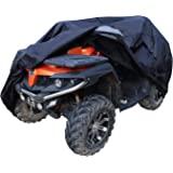 """AmazonBasics Weatherproof Premium ATV Cover - 150D Oxford, ATVs up to 85"""""""