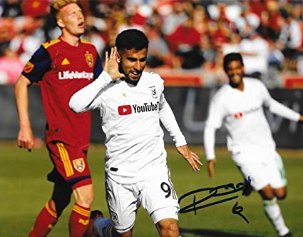 check out 96b04 80772 Autographed Diego Rossi Photo - Club LAFC 8x10 MLS ...