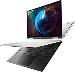 Dell XPS 13 7390 2 in 1 i7-1065G7 IRIS Plus 256GB PCIe SSD 16GB RAM FHD+ (1920x1200) Touch Screen Killer WiFi 6 AX Platinum Silver - Black Carbon Fiber Interior Win 10 Home (Renewed)
