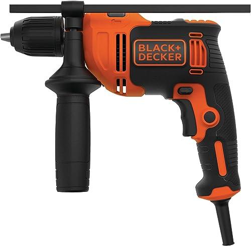 BLACK DECKER Hammer Drill, 6.5-Amp, 1 2-Inch BEHD201