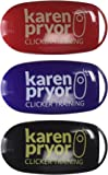 Karen Pryor i-Click Dog Training Clicker, 3 Clickers