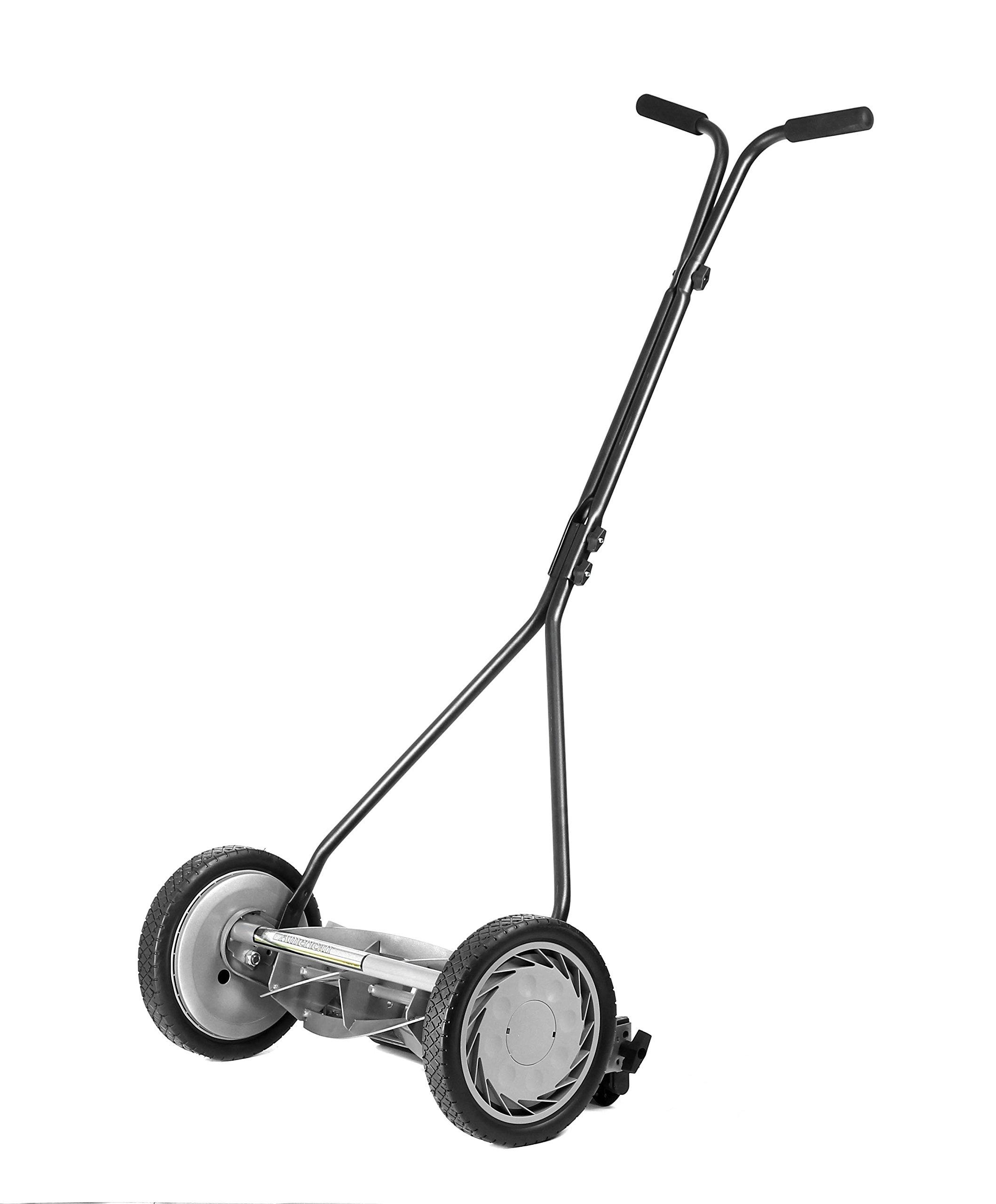 American Lawn Mower Company 1415-16 16-Inch, 5-Blade Push Reel Lawn Mower, 16-Inch, 5-Blade
