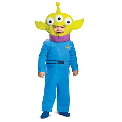 Disguise Baby Boy's Disney Pixar Toy Store and Beyond Alien Classic Costume: Clothing