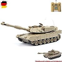 m1a2Abrams US.Army 2.4GHz RC tanque teledirigido Tank, cadena