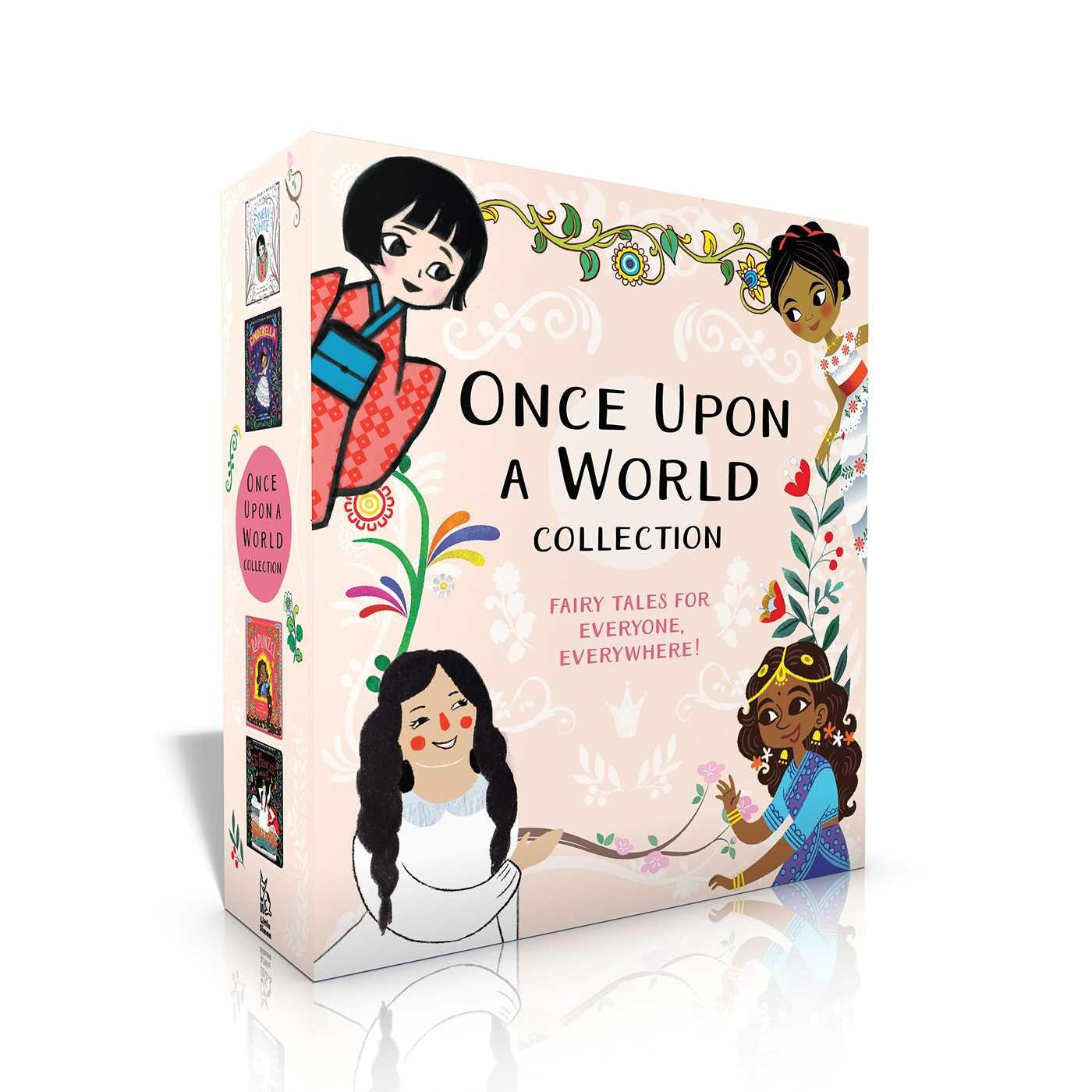 Once Upon a World Collection: Snow White; Cinderella; Rapunzel; The Princess and the Pea ebook