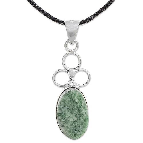 NOVICA Multi-Gem Citrine .925 Sterling Silver Pendant Necklace 18 Sunny Cross