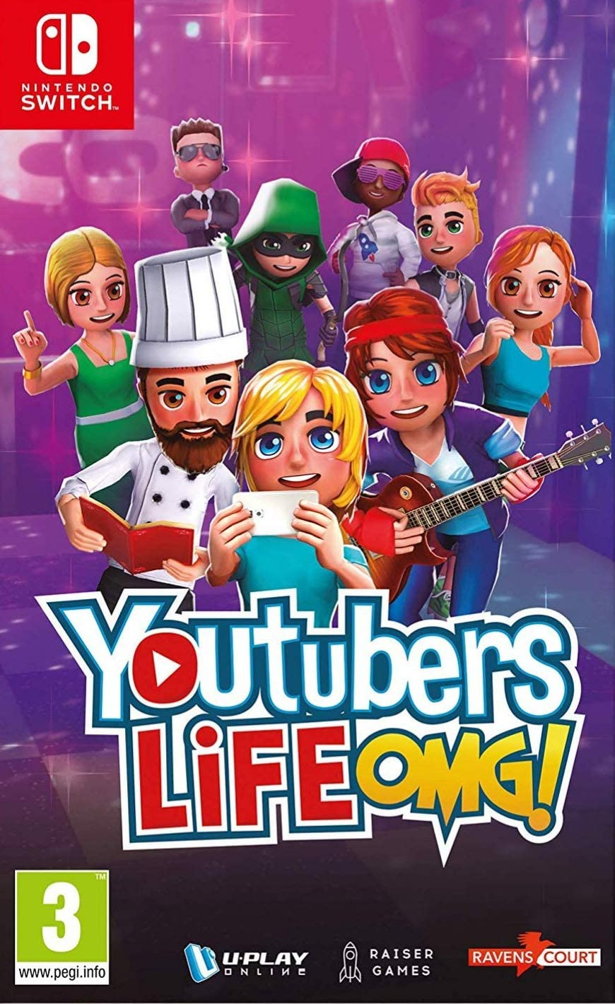 Youtubers Life, Switch: Amazon.es: Videojuegos