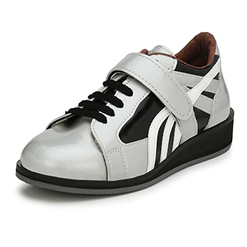 ASE Mens Silver Professional Weightlifting Shoe 11 UK  Buy Online at ... 25bf6605d
