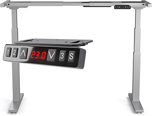 Direction Electric Height Adjustable Standup Desk Frame Only w/Dual Motor