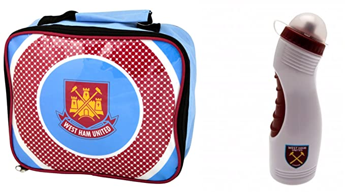 Image Unavailable. Image not available for. Colour  WEST HAM LUNCH BAG   DRINKS  BOTTLE SET (BULLS EYE ... a3b5c93a72