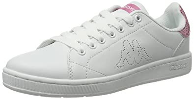Eu Damen Kappa Court Glory SneakerWeißwhiterosé38 8N0nwm