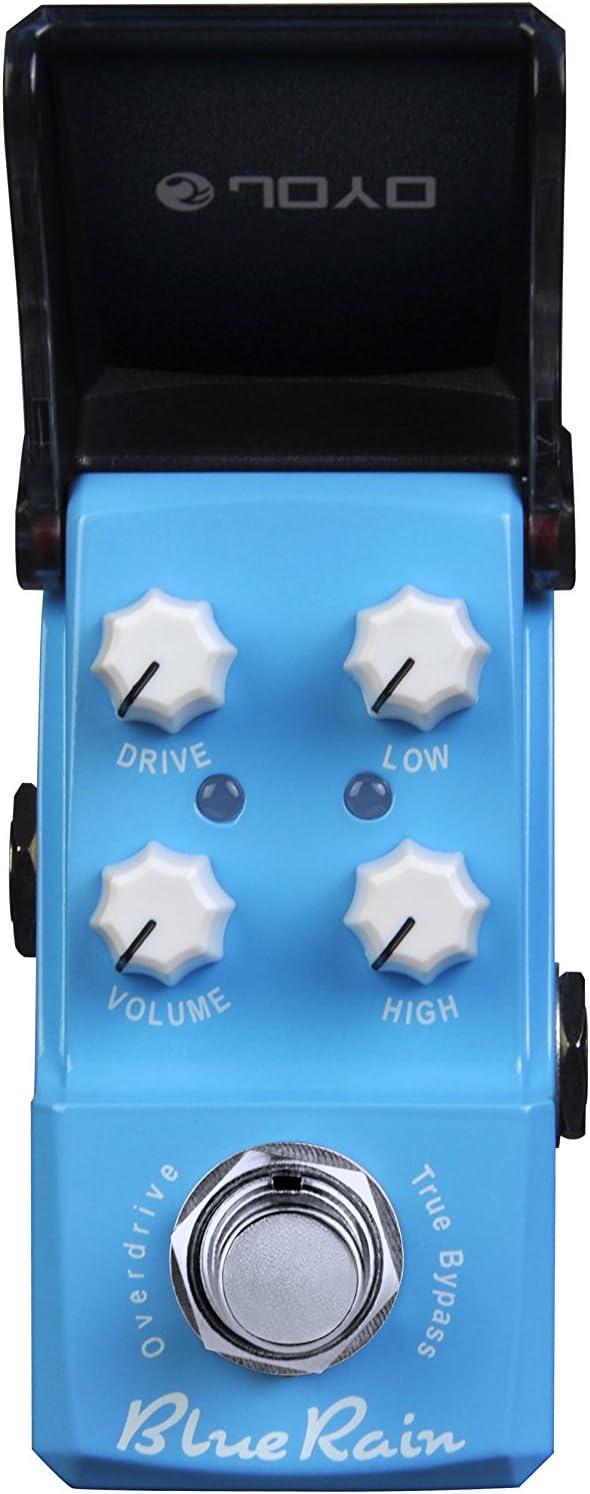 JOYO JF-311-BlueRain-Compressor - Pedal de efecto compresión para guitarra, color azul