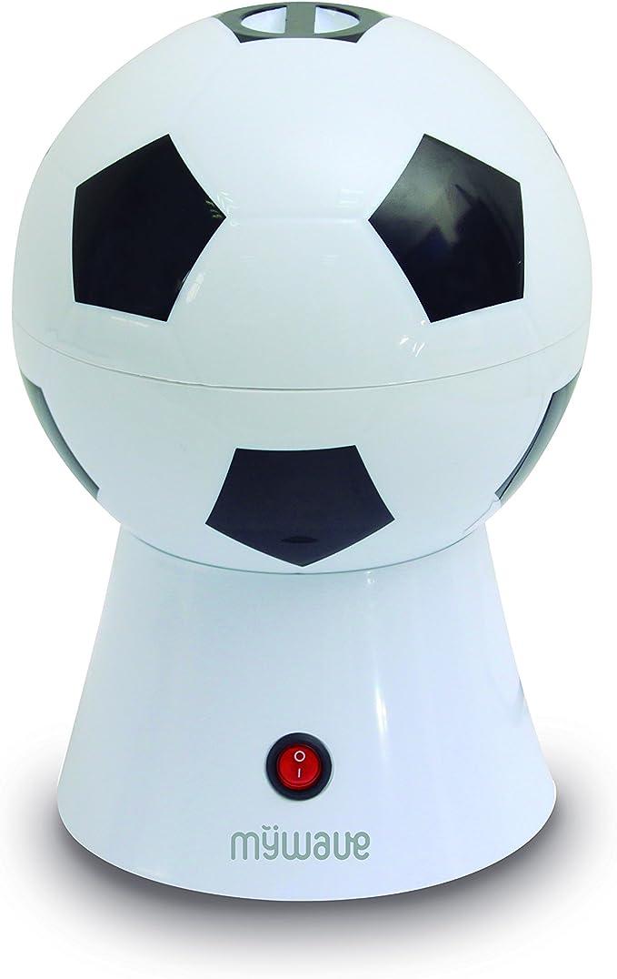 MyWave Máquina para Hacer Palomitas con Forma de Balón, Sin Aceite ...