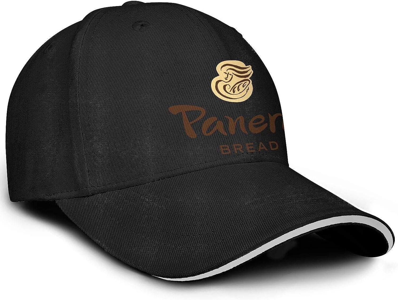 Cap Plain Sun Hats UONDLWHER Adjustable Unisex Panera-Bread-Logo