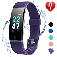 Letscom Waterproof Color Screen Fitness Tracker Watch
