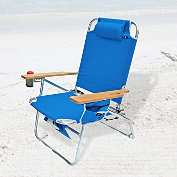 Big Jumbo Heavy Duty 500 Lbs XL Aluminum Beach Chair For Big U0026 Tall Part 56