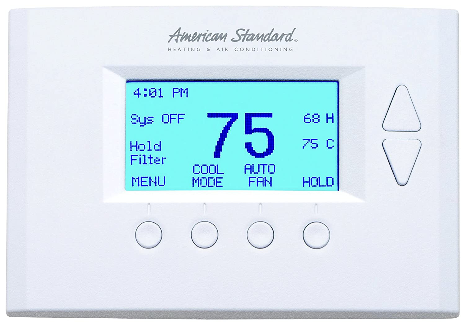 nexia home intelligence azemt500 american standard energy management rh amazon com American Standard Thermostat Reset American Standard Thermostat Problems