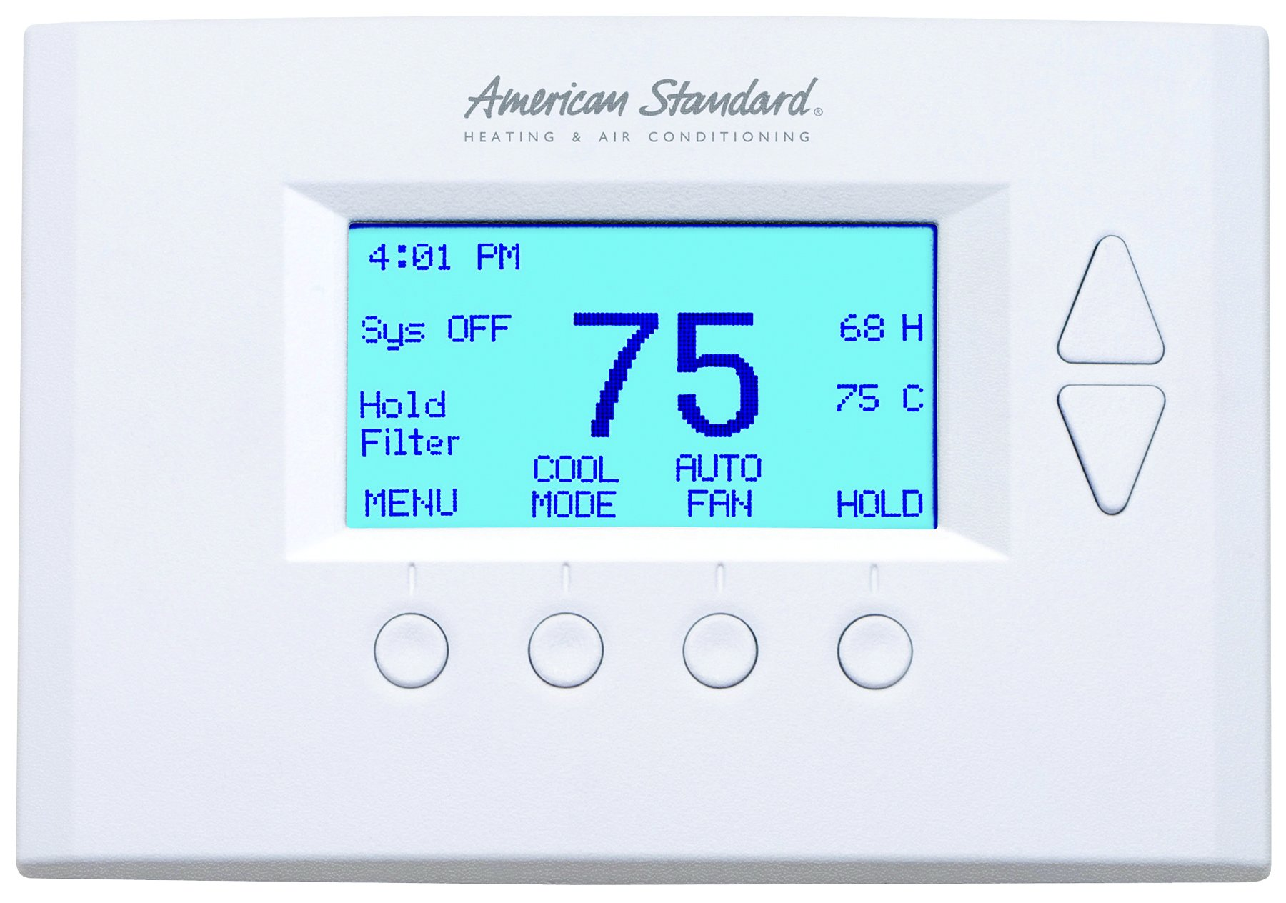 Nexia Home Intelligence AZEMT500 American Standard Energy Management Thermostat, White