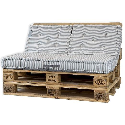 Textura Padraima - Cojín para sofá (60 x 60 x 17 cm), Color ...