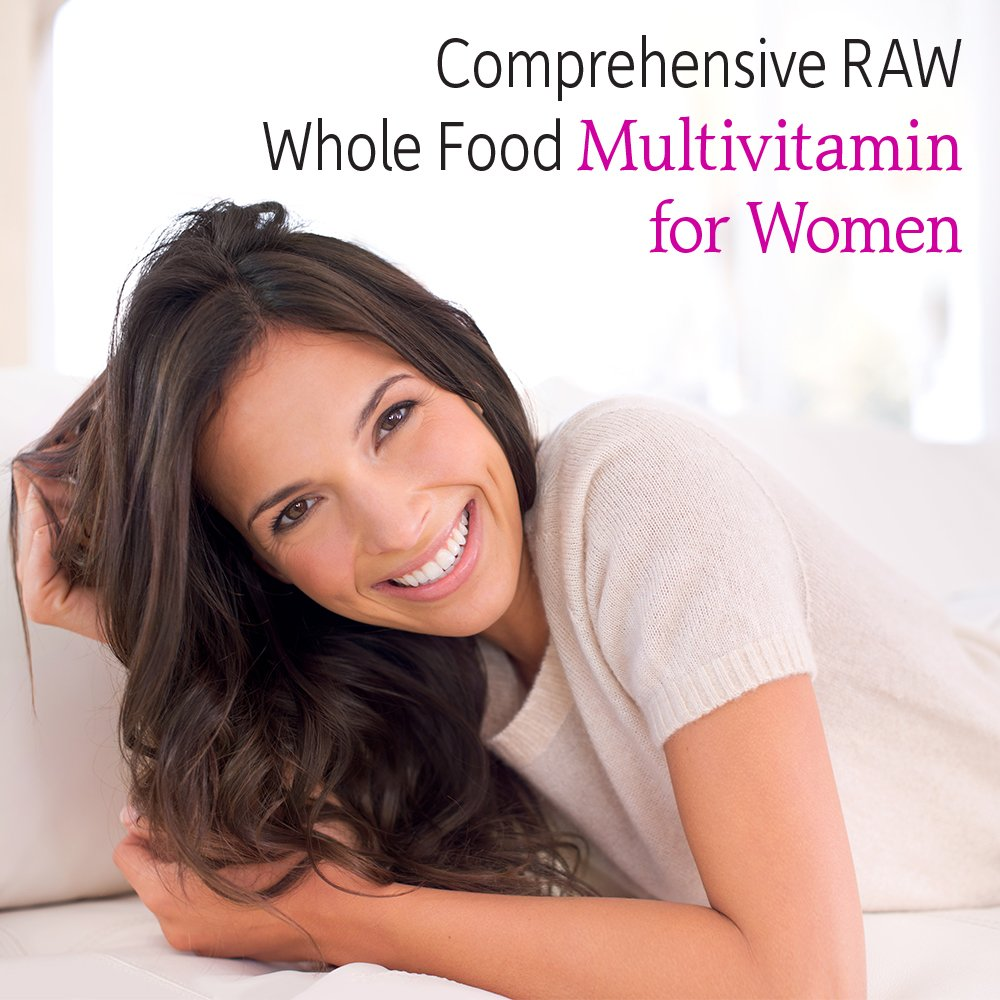 Garden of Life Multivitamin for Women - Vitamin Code Women's Raw Whole Food Vitamin Supplement with Probiotics, Vegetarian, 120 Capsules by Garden of Life (Image #3)