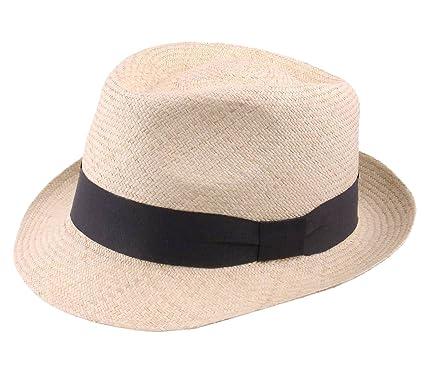 nuances de boutique de sortie vente discount Classic Italy Authentique Chapeau Panama, tressage Traditionnel en Équateur  - 5 Coloris - Homme ou Femme Panama Cubano
