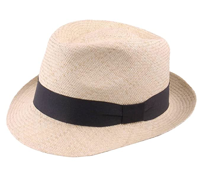 Classic Italy - Cappello Panama Uomo Panama Cubano - Size 55 cm - Naturel 49d26b898126