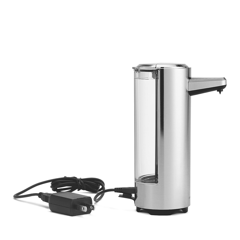 simplehuman ST1034 Níquel - Dispensador de jabón (113 mm, 66 mm, 162 mm): Amazon.es: Hogar