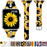ZAROTO Compatible for Apple Watch Band 38mm, iwatch Bands 40mm Womens for Apple Watch SE, Series 6 5 4 3 2 1, Comfortable Cut
