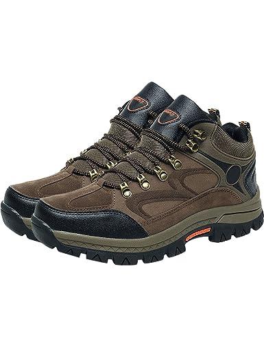 Menschwear Herren Trekkingschuhe & Bergschuhe Schuhe Schuhe (8,Grün)