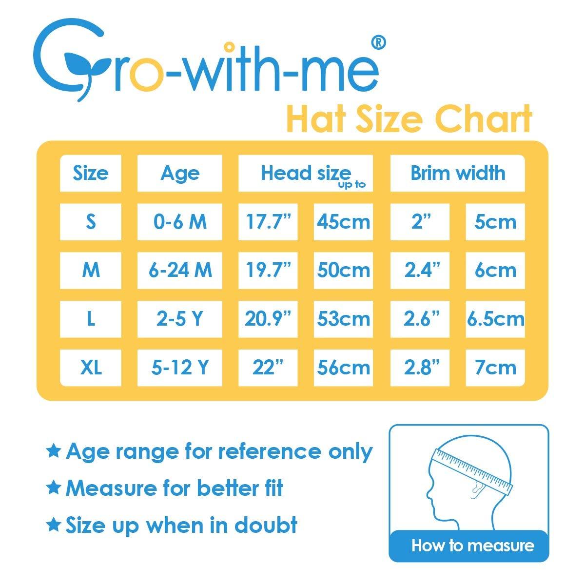 Stay-on Tie Jan /& Jul Baby Girl Cotton Sun Hat 50 UPF S: 0-6m, Pink Adjustable Good Fit