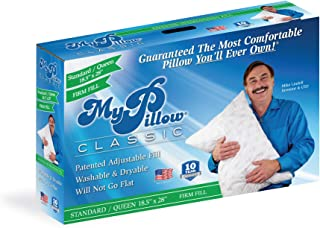 product image for Classic Bed Pillow [Standard/Queen, Firm]