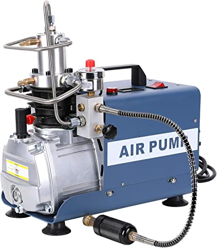 4500PSI 40Mpa Electric Pump PCP Air Compressor For Paintbal Air Rifles Cylinder