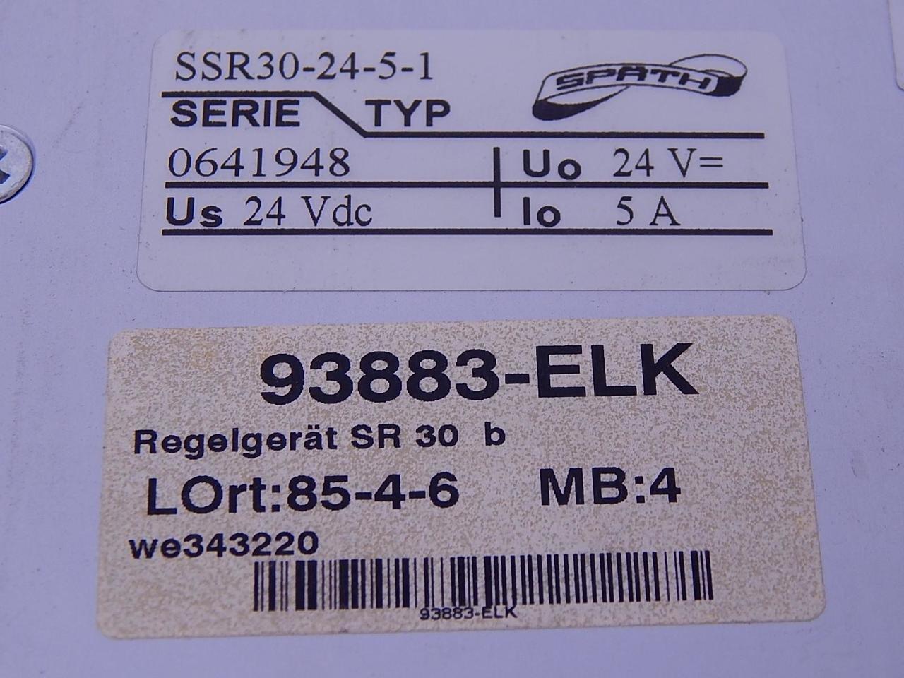 Spath 93883-ELK Power Supply T111244